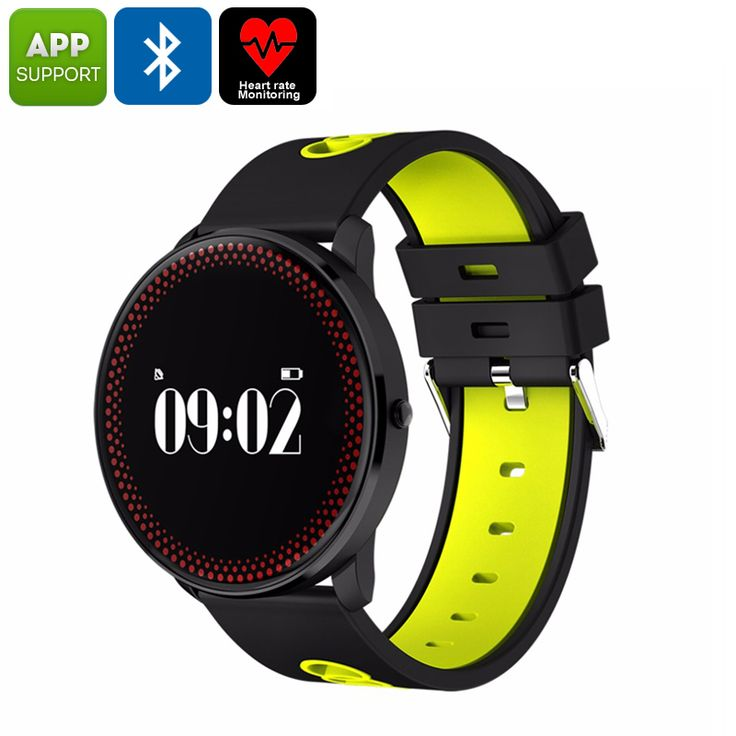 ORDRO CF007 Bluetooth Watch - Blood Pressure, Heart Rate, Pedometer, Calories Burned, App Support, Bluetooth (Yellow) - ORDRO CF007 Fitness Tracker Bracelet helps you to meet your future fitness goals thanks to its pedometer, heart rate monitor, sedentary reminder, and more.