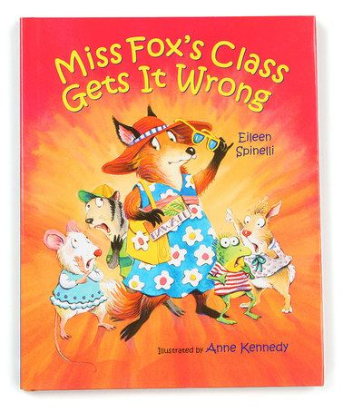 Another great find on #zulily! Miss Fox's Class Gets it Wrong Hardcover #zulilyfinds