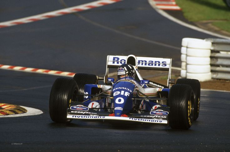 Damon Hill. 1996 World Champ. Should have won more...