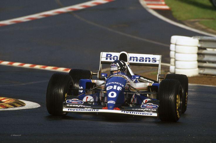 Damon Hill. 1996 World Champ. Should have won more...