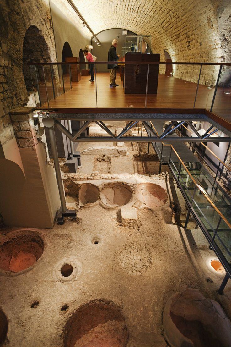 Un museo bajo el Museo de Historia de Barcelona