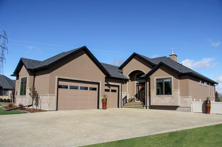 17 best images about stucco house exteriors on pinterest for Exterior metal paint in dark brown