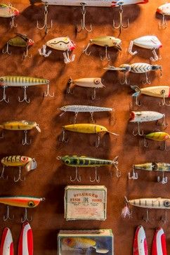 Antique Fishing Lures Design, Pictures, Remodel, Decor and Ideas