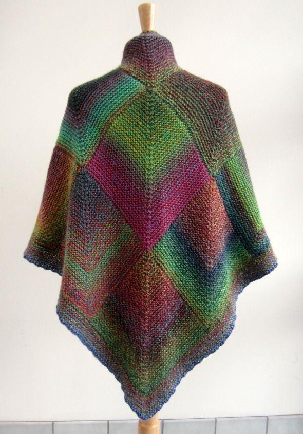 mitered square -pretty colors!
