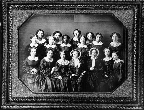 (c. 1855) Oberlin Women Graduates, Class of 1855
