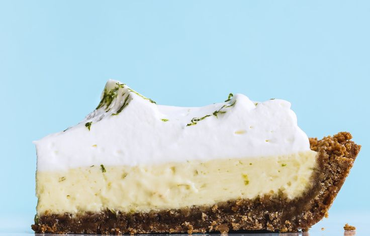 The perfect key lime pie is a balance between tart and sweet.