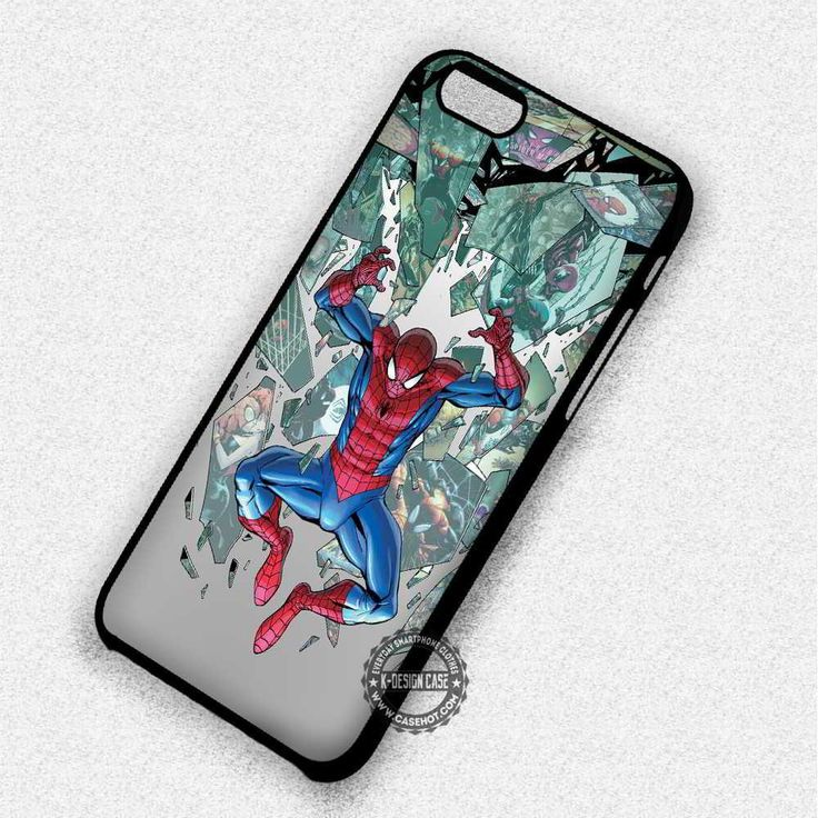 The Superior Comic Spider Man - iPhone 7 6 5 SE Cases & Covers