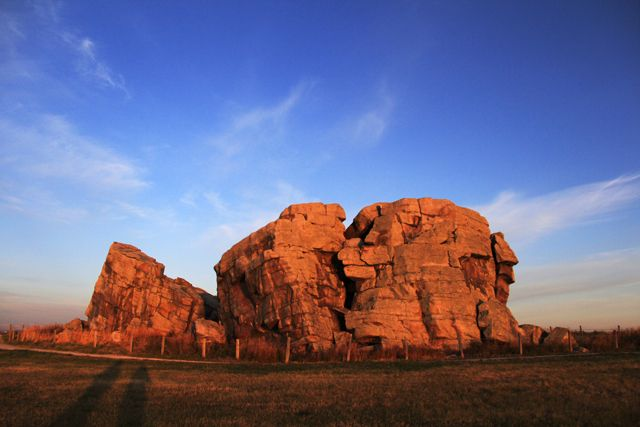 The Okotoks Erratic - A Photogenic Monster Sized Rock especially at dawn
