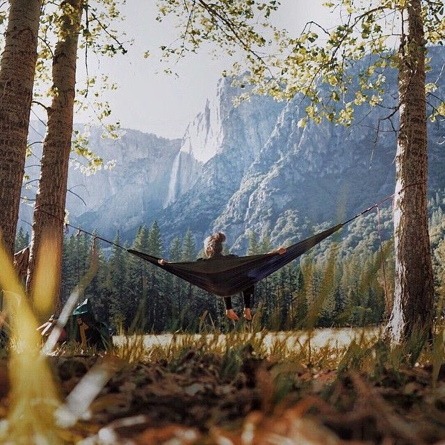 hammocking IN yosemite IN the autumn = absolute perfection that i'm doing someday.