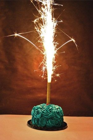 ONLY pay $6.99 for shipping and receive 2 of our top quality cake sparklers for free! Celebrate your birthday, an anniversary, or your wedding with this fantastic, sparkling product!