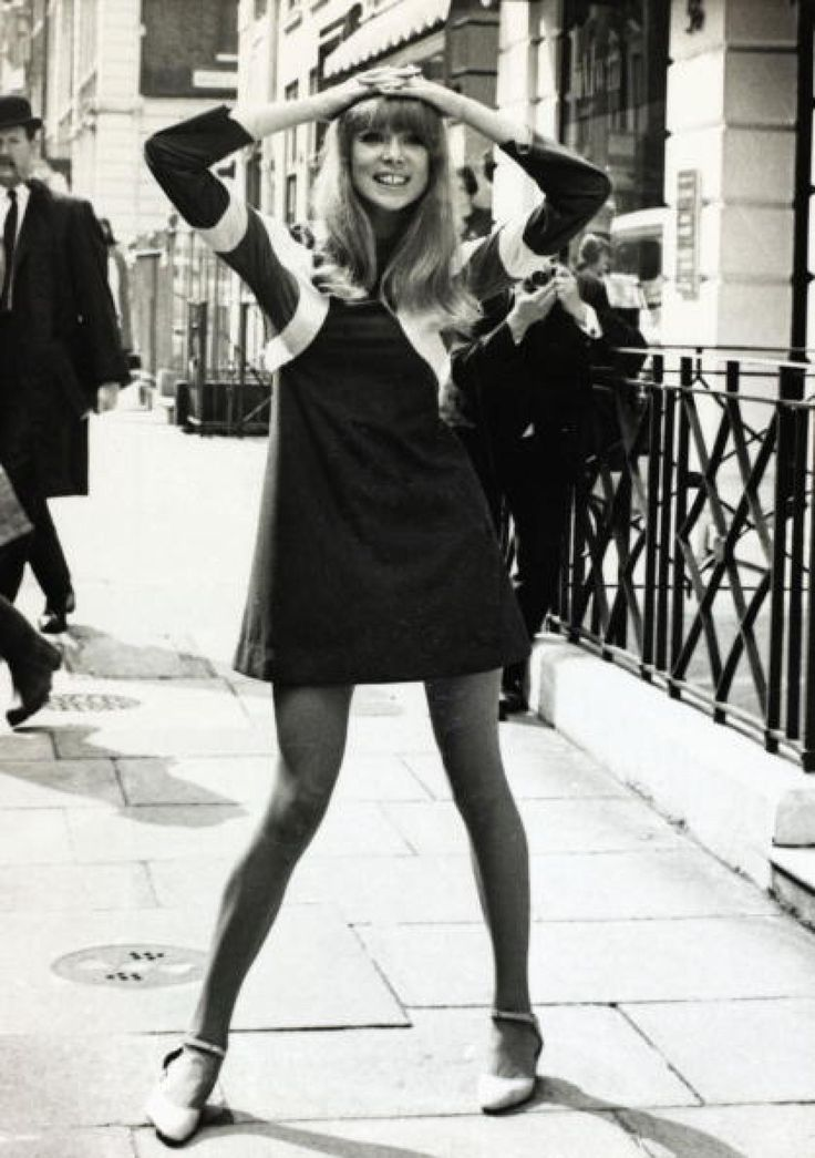 British model Patti Boyd pictured in one of top designer Ossie Clark's creations, a dress called ' Hoopla' of brushed tricel with cut circles. Description from gettyimages.co.nz. I searched for this on bing.com/images