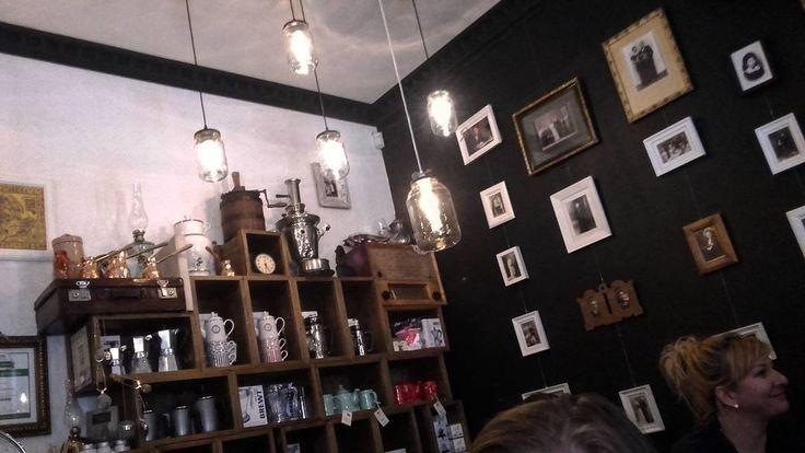 #lights #paintings #coffee #shop