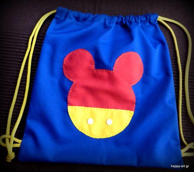 happyartgr:backpack for kids