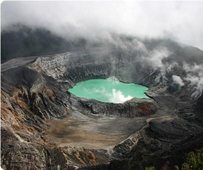 Volcan Poas National Park, Costa Rica.