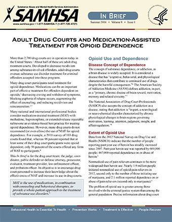 do adult drug courts work
