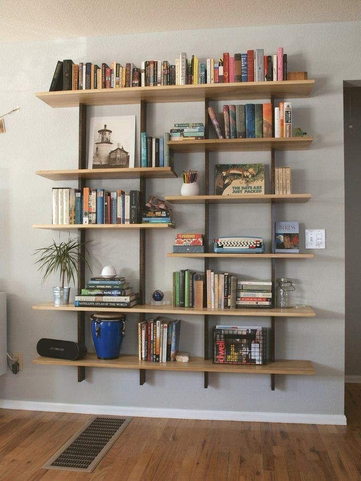 17 best woodworking images on pinterest woodworking for Cheap wall storage ideas