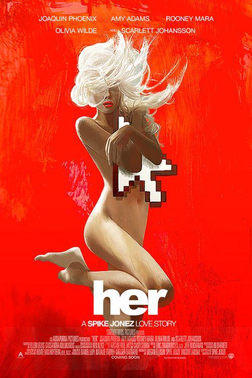Her - movie poster - Janee Meadows