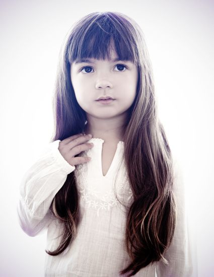 Long Hair With Fringe Kids Haircuts Pinterest