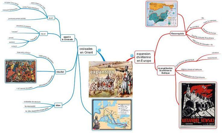 Collège Léonard de Vinci - BOIS-GUILLAUME - HIS 5 - Fiche de révision 86 - L'expansion religieuse de l'Occident.