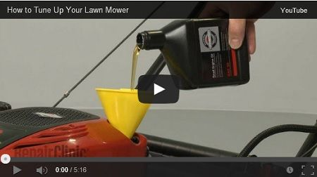 How to tune up your lawn mower and get it ready for spring.