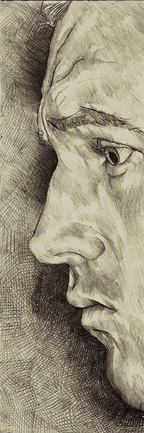 Self Portraits by Philipp Banken, via Behance. I need to practice. This is beautiful.: