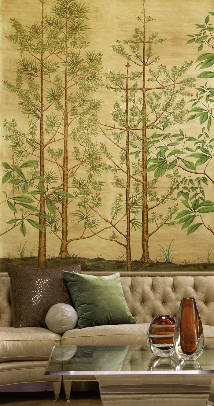 Love the tonal quality of this. Would like to see more primitive trees. Paul Montgomery Studio - Chinoiserie Gallery