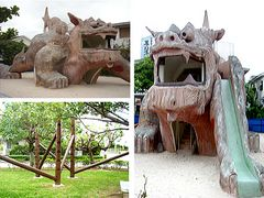 I found a Shisa park! YES!