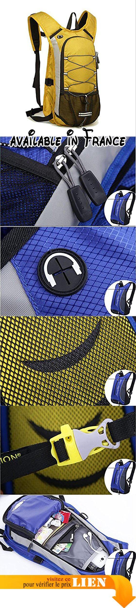 B078W88PTJ : Cyclisme Backpack12L Résistant À L'eau Léger Vélo Sac À Dos Multi Poches Hommes Femmes Sport Sac À Dos pour Randonnée Escalade Escalade Ski  Yellow. 12L High Capacity: Le sac à dos cycliste en nylon ultra-léger imperméable et résistant aux déchirures. Espace interne 12l emplacement de stockage sac à dos de configuration de sac à dos de vélo pour répondre aux nécessités quotidiennes du stockage vous permettant de voyager facilement.. Confortable