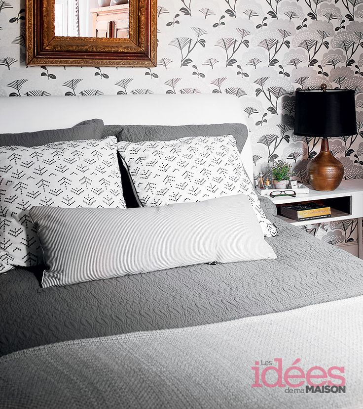 Une maison stylée | Les idées de ma maison Photo: ©TVA Publications | Yves Lefebvre #deco #maison #visiteguidee #style #artsy #chambre