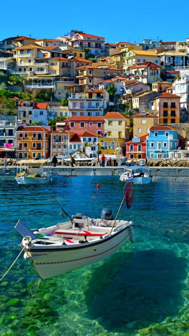 Parga, Greece!