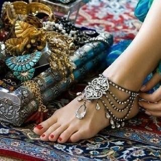 Beautiful Indian anklet. For bride and any wedding party   :))