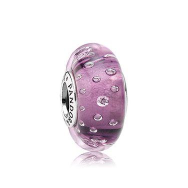 Purple Fizz Murano Glass Charm £35