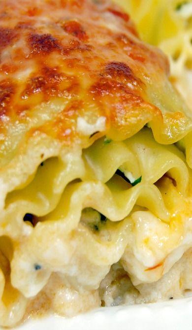 Giada's Lasagna Rolls...