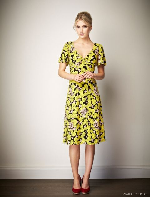2012 Style: Joan Print: Waterlily Leona Edmiston dress
