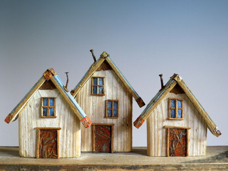 Driftwood Houses by Hans Peter Roersma