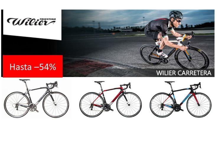 Ofertas bicicletas Wilier carretera con descuento de hasta el 54%. Bicicletas desde 463 euros