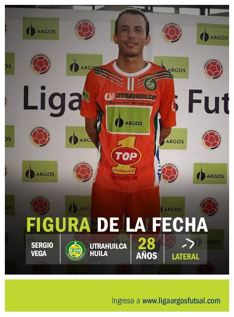 Figura de la sexta fecha. #LigaArgosFutsal