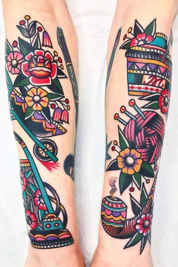 American Traditional Tattoos Their History And Meaning Tattoo Kits Tattoo Machines Tattoo Supplies丨wormhole Tattoo Supply In 2020 Traditional Tattoo American Traditional Tattoo Traditional Tattoo Woman