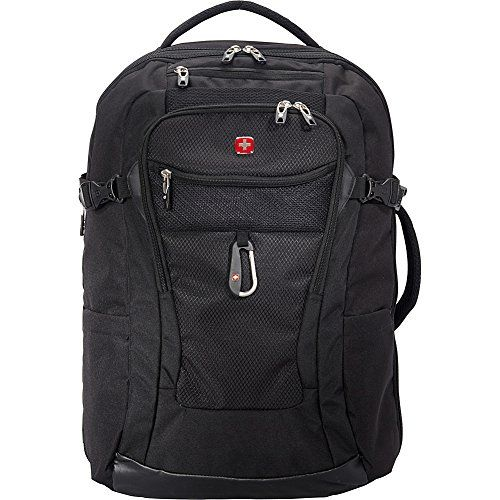 """SwissGear Travel Gear 1900 Travel Laptop Backpack 15″ - eBags Exclusive (Black)"""