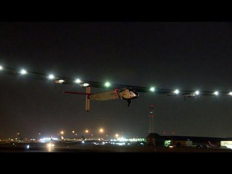 動画:ソーラー・インパルス2、カイロを離陸 世界一周の最終行程へ 写真1枚 国際ニュース:AFPBB News