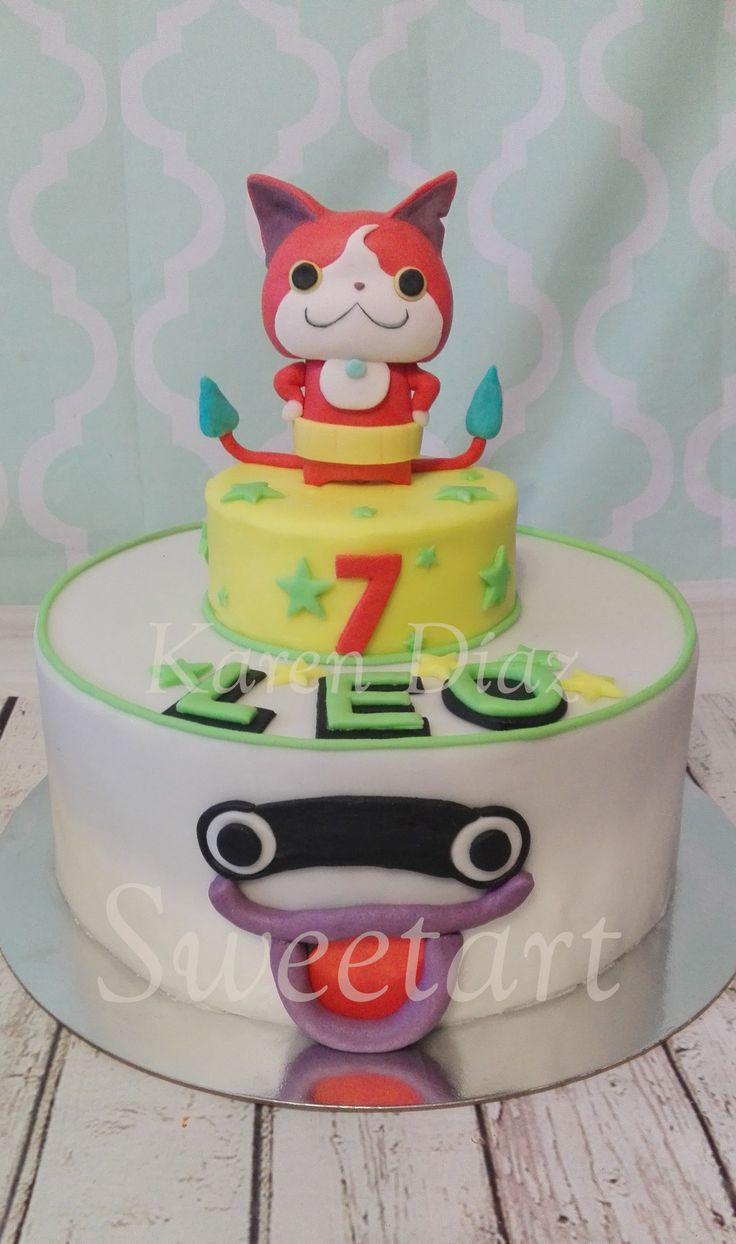 Yo-kai Watch cake.