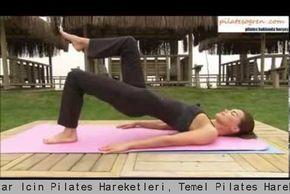 Ebru Şallı Yeni Başlayanlar İçin Pilates Hareketleri Temel Pilates HareketleriPilates Başlangıç