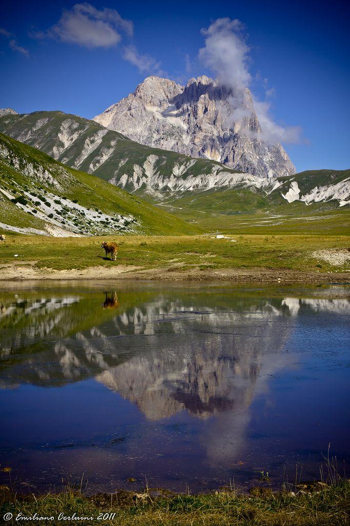 Gran Sasso Abruzzo Italy