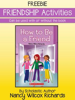"""Encourage friendship and kindness in your classroom any time of the year! This resource was inspired by my book, """"How to Be a Friend"""". However, the activities can be done with or without the book. Read a letter from me (the author) telling the inspiration behind the book, (even if you dont have the book, its always fun to learn the behind-the-scenes scoop!) or complete activities on emotions."""