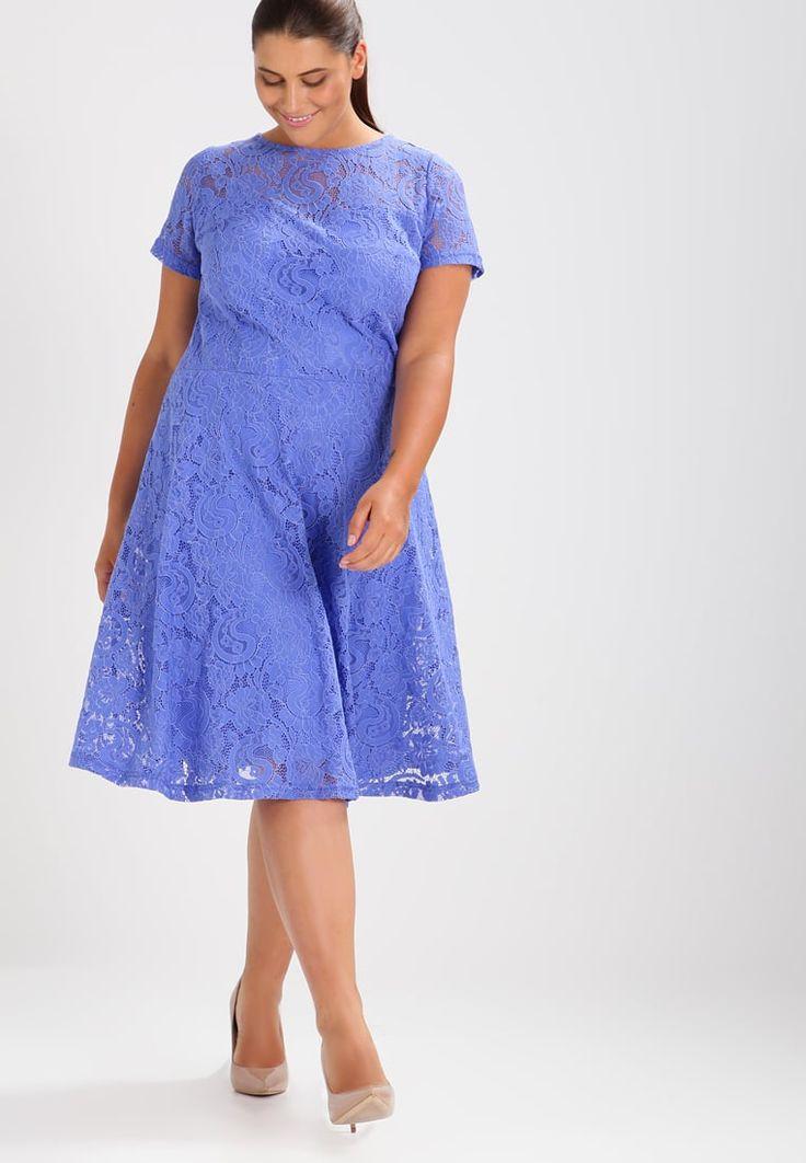 Dorothy Perkins Curve Sukienka letnia - blue - Zalando.pl