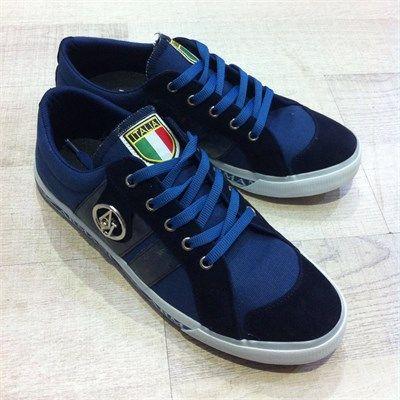 Erkek AJ Armalı Günlük Spor Ayakkabı Mavi