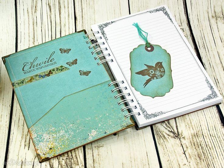 • wyjątkowe scrapbooking notesy, akcesoria - pamiętnik