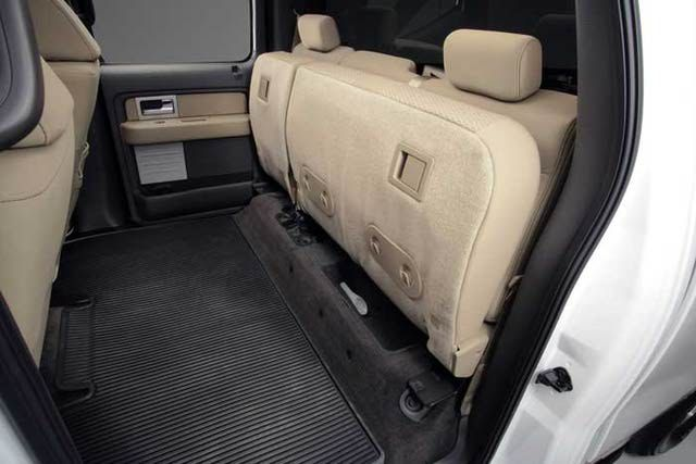 2009 Ford F 150 Pickup Truck Pictures Rear Seat Safe