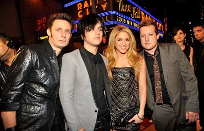 Green Day Pictures: MTV Video Music Awards