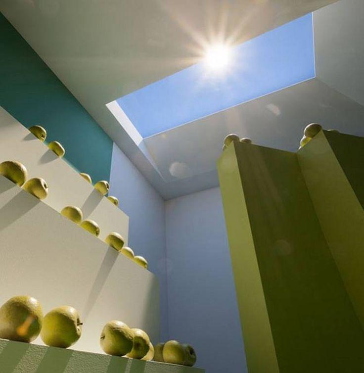 LUZ ARTIFICIAL. Según su inventor, las personas la perciben igual que la luz solar.